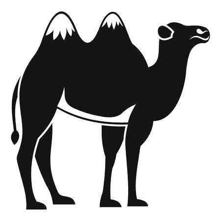 Camel icon. Simple illustration of camel vector icon for web Illustration