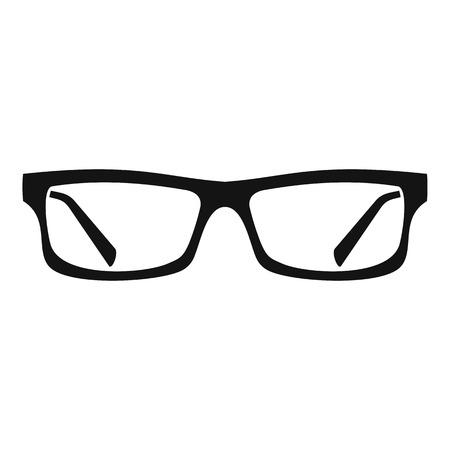eye glasses: Eye glasses icon. Simple illustration of eye glasses vector icon for web Illustration