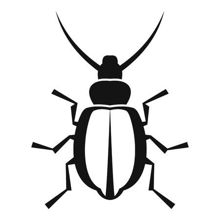 coleoptera: Beetle icon. Simple illustration of beetle vector icon for web