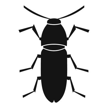 coleoptera: Cereal leaf beetle icon. Simple illustration of cereal leaf beetle vector icon for web