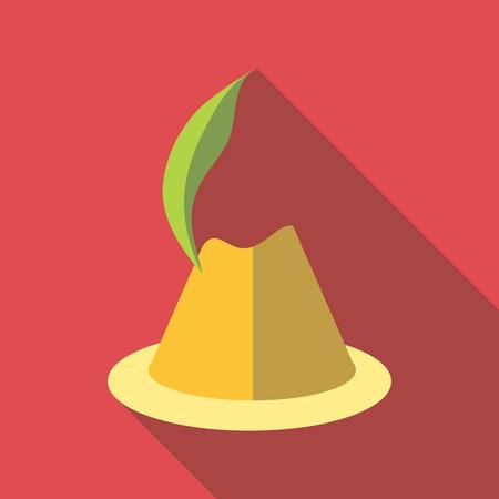 Irish hat icon. Flat illustration of irish hat vector icon for web