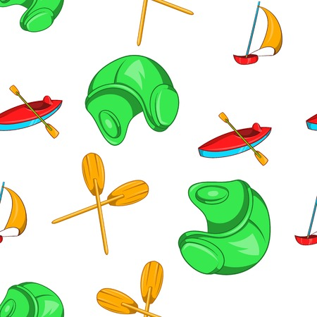 Water stay pattern. Cartoon illustration of water stay vector pattern for web Ilustrace