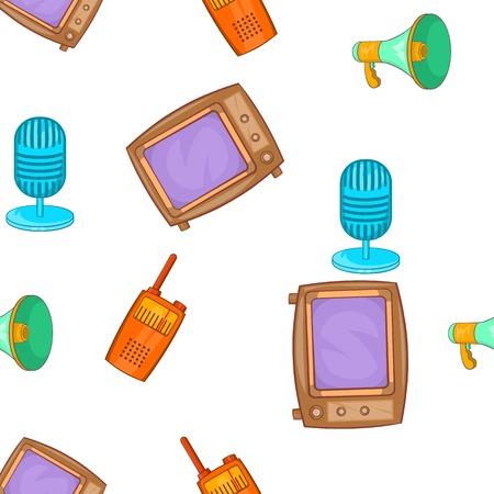 Headline pattern. Cartoon illustration of headline vector pattern for web Illustration
