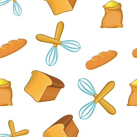 patisserie: Patisserie pattern. Cartoon illustration of patisserie vector pattern for web