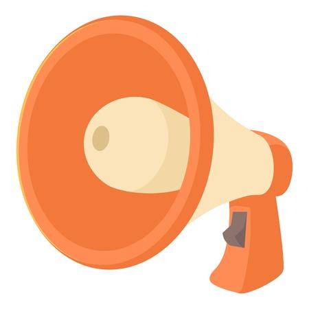 volume control: Loudspeaker icon. Cartoon illustration of loudspeaker vector icon for web