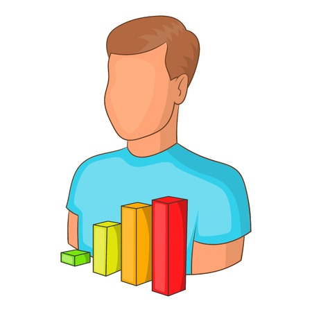 vacancy: Manager vacancy icon. Cartoon illustration of manager vacancy vector icon for web Illustration