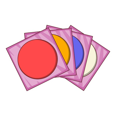 dvd: CD icon. Cartoon illustration of CD vector icon for web