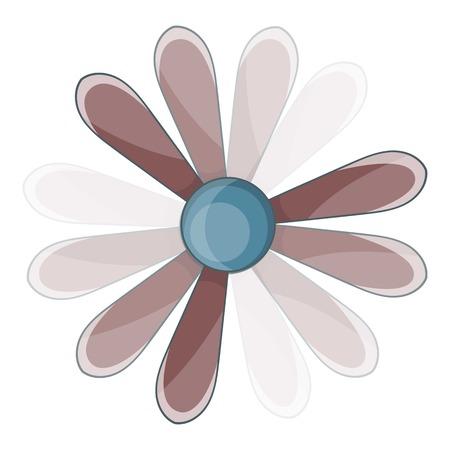 Propeller icon. Cartoon illustration of propeller vector icon for web