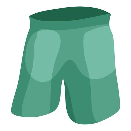 fashionably: Shorts icon. Cartoon illustration of shorts vector icon for web