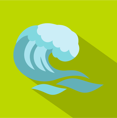 granola: Big wave icon. Cartoon illustration of big wave vector icon for web