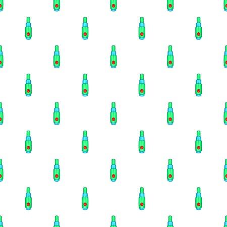 Refill bottle pattern. Cartoon illustration of refill bottle vector pattern for web Illustration