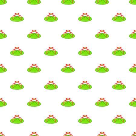 merry go round: Merry go round pattern. Cartoon illustration of merry go round vector pattern for web