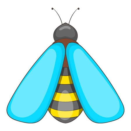 beeswax: Bee icon. Cartoon illustration of bee vector icon for web design