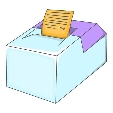 departmental: Sale cash register icon. Cartoon illustration of sale cash register vector icon for web design Illustration