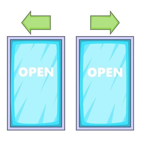 vitrine: Storefront icon. Cartoon illustration of storefront vector icon for web design