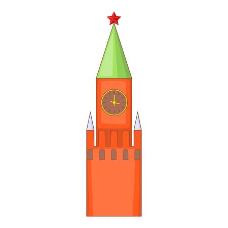 Kremlin icon. Cartoon illustration of Kremlin vector icon for web design