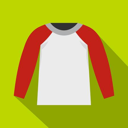 Sports jacket icon. Flat illustration of sports jacket vector icon for web