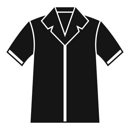 pocket size: Shirt polo icon. Simple illustration of shirt polo vector icon for web