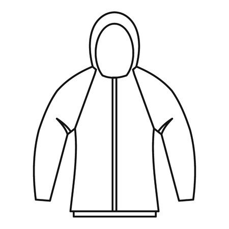 Sweatshirt icon. Outline illustration of sweatshirt vector icon for web