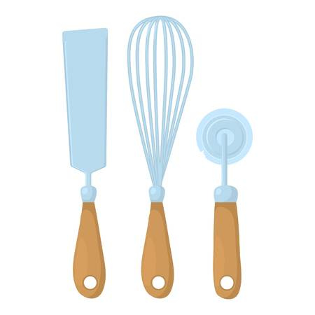 Kitchenware icon. Cartoon illustration of kitchenware vector icon for web