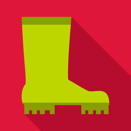 botas altas: icono de limícolas. ilustración plana del icono de limícolas vectorial para la web