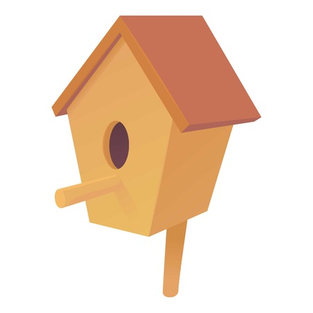nesting box: Nesting box icon. Cartoon illustration of nesting box vector icon for web design Illustration
