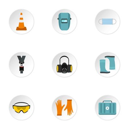 repairs: Repairs icons set. Flat illustration of 9 repairs vector icons for web Illustration