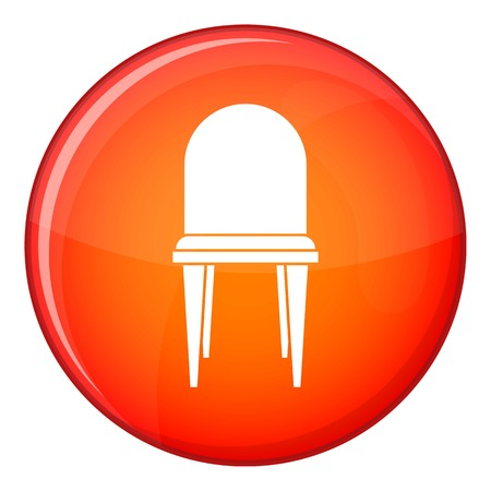Chair in simple style isolated on white background vector illustration Illustration