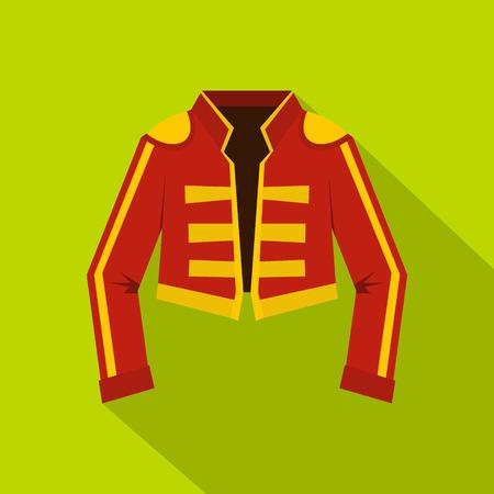 toreador: Costume of toreador icon. Flat illustration of costume of toreador vector icon for web