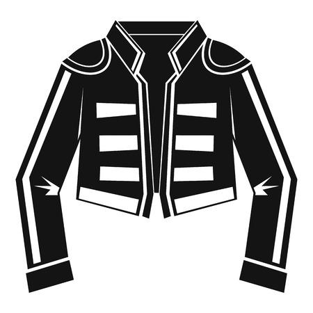 toreador: Costume of toreador icon. Simple illustration of costume of toreador vector icon for web