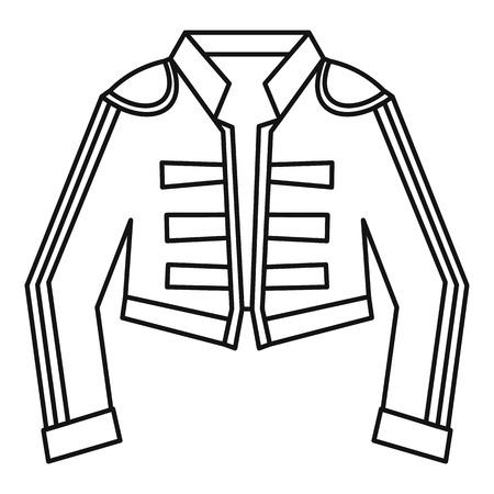 bullfighting: Costume of toreador icon. Outline illustration of costume of toreador vector icon for web Illustration