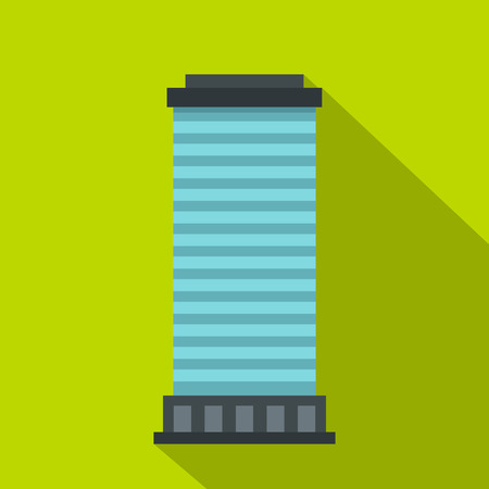 Column icon. Flat illustration of column vector icon for web Illustration