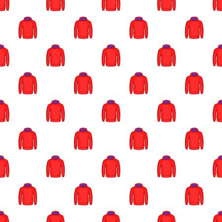 sweatshirt: Men winter sweatshirt pattern. Cartoon illustration of men winter sweatshirt vector pattern for web
