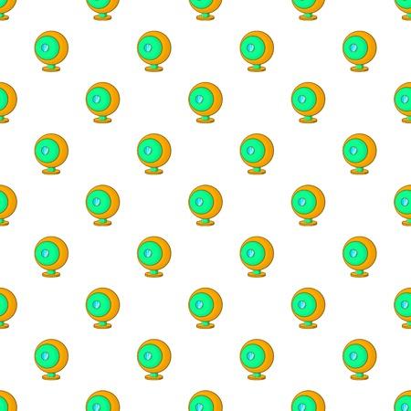 Webcam pattern. Cartoon illustration of webcam vector pattern for web