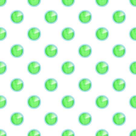 Radar pattern. Cartoon illustration of radar vector pattern for web
