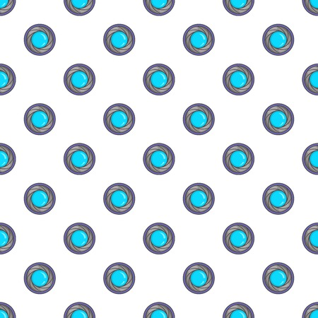 photography backdrop: Eye of camera pattern. Cartoon illustration of eye of camera vector pattern for web Illustration