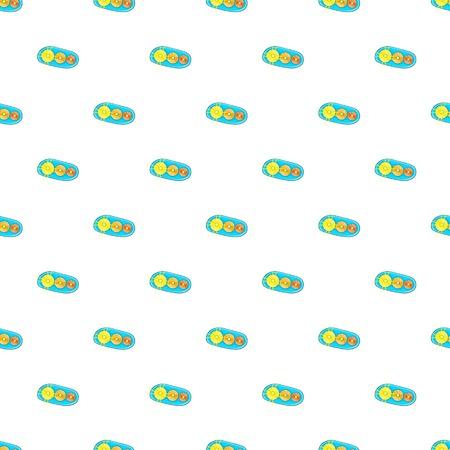 taillight: Taillight pattern. Cartoon illustration of taillight vector pattern for web Illustration