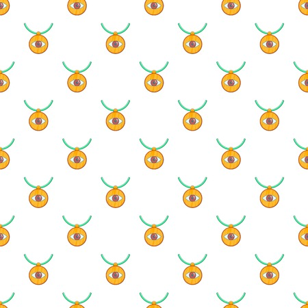 third eye: Third eye amulet pattern. Cartoon illustration of third eye amulet vector pattern for web