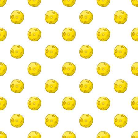 Moon pattern. Cartoon illustration of moon vector pattern for web
