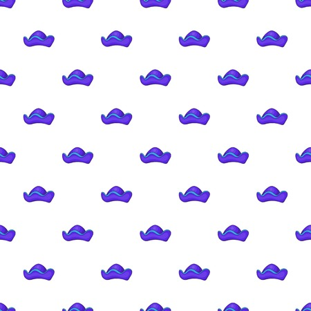 Pirate hat pattern. Cartoon illustration of pirate hat vector pattern for web