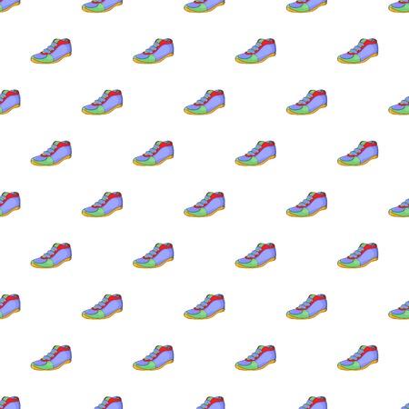 cleats: Cleats pattern. Cartoon illustration of cleats vector pattern for web Illustration