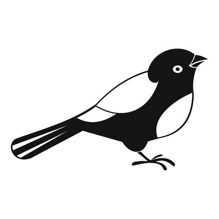 Bird icon. Simple illustration of bird vector icon for web