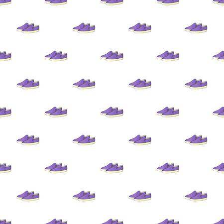 loafers: Loafers pattern. Cartoon illustration of loafers vector pattern for web