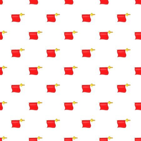 the matador: Fabric matador pattern. Cartoon illustration of fabric matador vector pattern for web