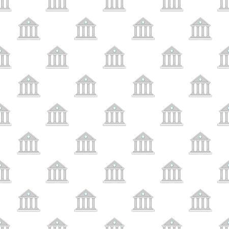 colonnade: Roman colonnade pattern. Cartoon illustration of roman colonnade vector pattern for web Illustration