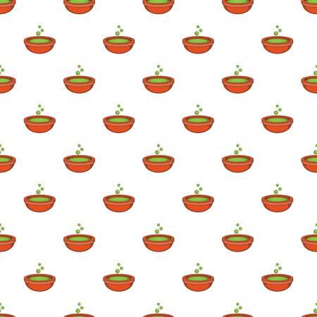 pócima: Bol con patrón poción verde. Ilustración de la historieta de la taza con el patrón de la poción verde de vectores para la web