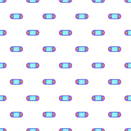 psp: Portable video game console pattern. Cartoon illustration of portable video game console vector pattern for web Illustration
