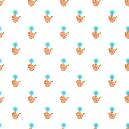 human touch: Human hand touch pattern. Cartoon illustration of human hand touch vector pattern for web Illustration