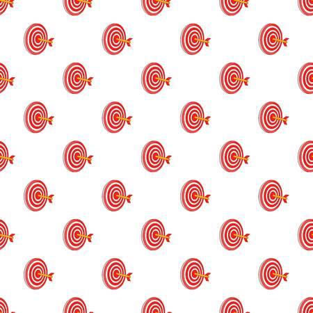 Target pattern. Cartoon illustration of target vector pattern for web