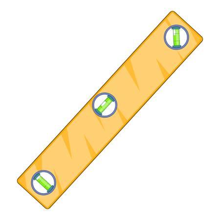 Niveaumeting icoon. Cartoon illustratie van niveaumeting vector pictogram voor web design